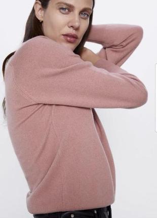 Водолазка zara пуловер кашемировый свитер zara шерстяной свитер джемпер
