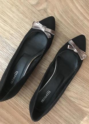 Туфли балетки мюли ботинки италия minelli