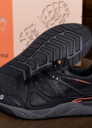 Мужские кожаные кроссовки merrell vibrum(40-45р)