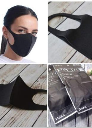 Защитные многоразовые маски pitta/питта. не медицинские. япония. pitta mask