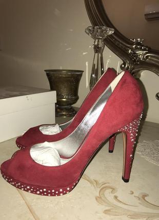 Туфли красные casadei оригинал!!!