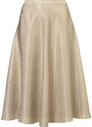 Жаккардовая юбка с высокой талией от topshop