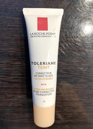 Тональний коригуючий флюїд la roche-posay toleriane