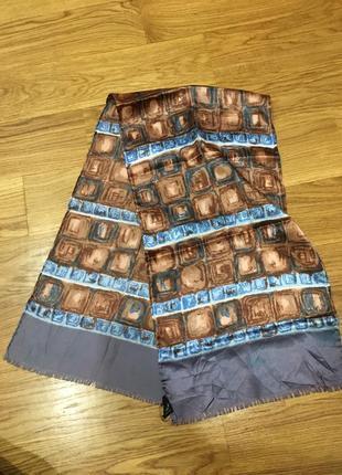 Шелковый шарф 112*30