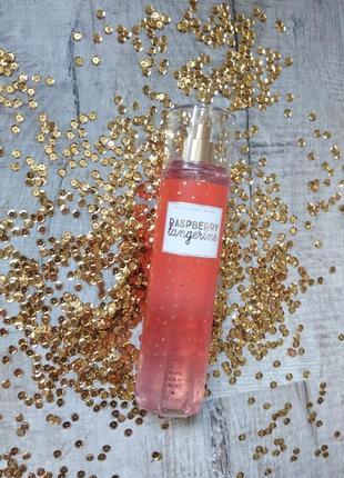 Спрей для тіла bath & body works raspberry tangerine