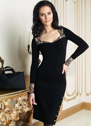 Кофта черная джемпер кофта блуза джемпер anabel arto модная кружево с кружевом стильная