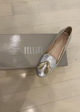 Туфлі fellini, шкіряні