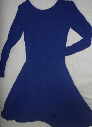 Супер платье синее бренд & other stories