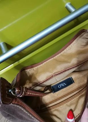 Замшевая сумочка4 фото