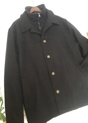 Стильное кашемировое пальто angelo litrico, 58р