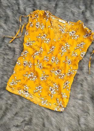Блуза кофточка с цветочным принтом papaya