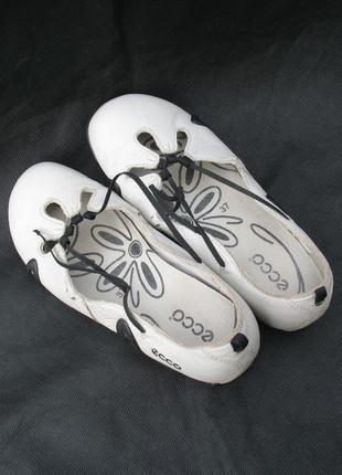 Туфли мокасины балетки ecco