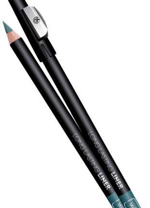 Стойкий карандаш для глаз wibo сине-зелёный