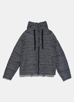 Красивый пуффер куртка демисезон zara