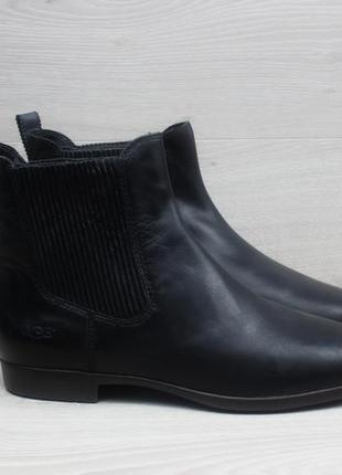 Женские кожаные ботинки chelsea ugg australia оригинал, размер 40 (челси)