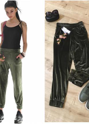 Велюровые штаны!!! безумно красивые!!! италия!