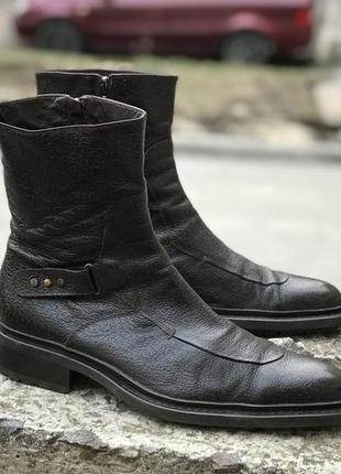 Cesare paciotti made italy кожаные премиум класса ботинки сапоги