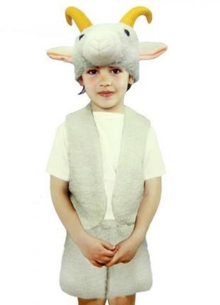 Маскарадный костюм овечки барашка козлика s-m-l