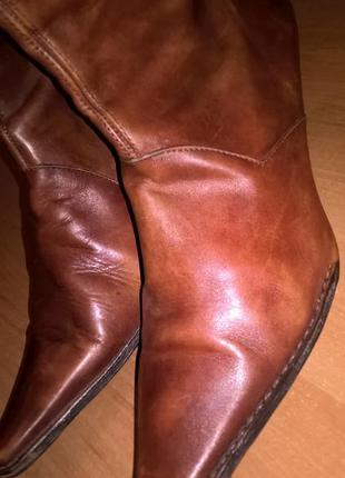 Кожа внутри и снаружи ботинки сапоги