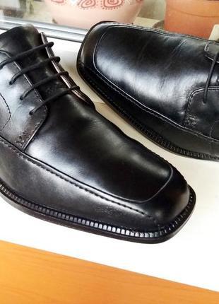 """Стильные очень мягкие кожаные туфли """" clarks """" , англия! 41 р."""