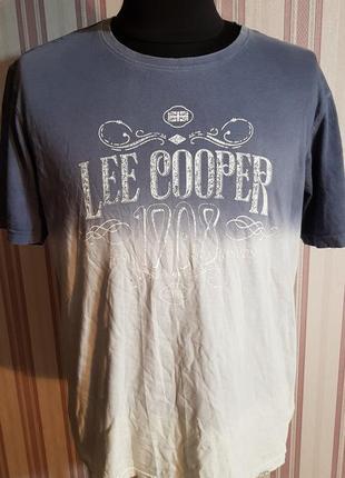 Футболка lee cooper размер xxl
