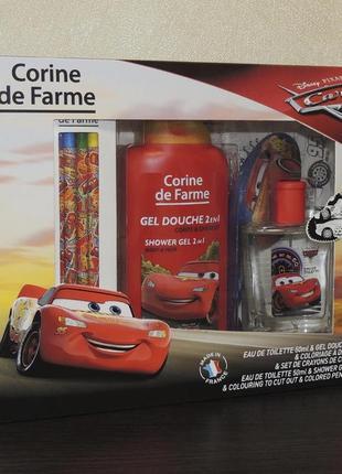 Corine de farme cars детский подарочный набор