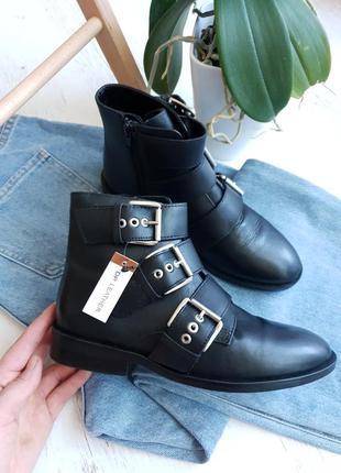 Натуральные кожаные ботинки dorothy perkins