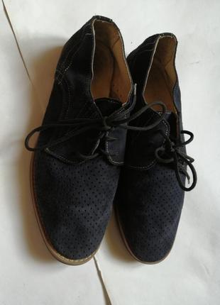Замшевые туфли р 39