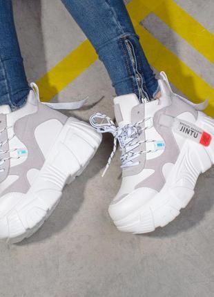 Высокие кроссовки на платформе (326685)
