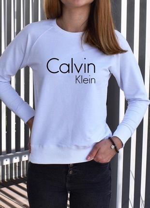 Черный свитшот с надписью calvin klein реглан женский