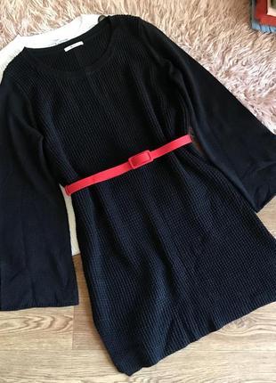 Вязанное платье /туника(l/xl)