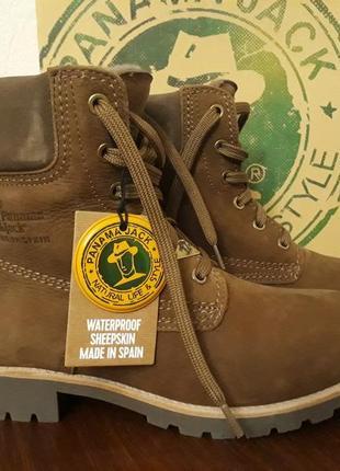 Крутезные новые ботинки panama jack pw 185