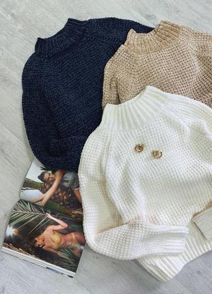 Бархатный свитер плюшевый велюр цвет размер универсал