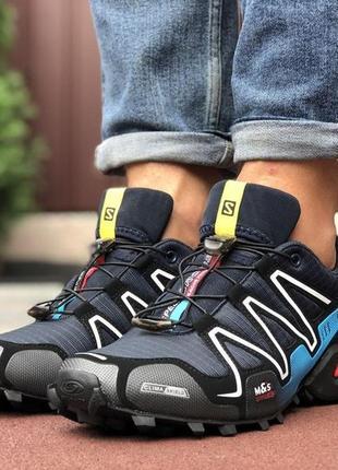 Мужские крутые кроссовки salomon