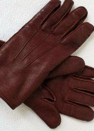 Перчатки кожаные pittards