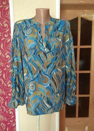 Блуза барвиста,розмір 14/42