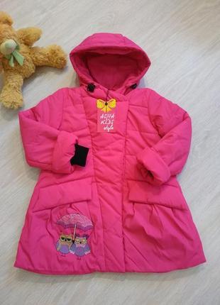 """♥ куртка для девочек 'совушки"""" -весна/осень ♥"""
