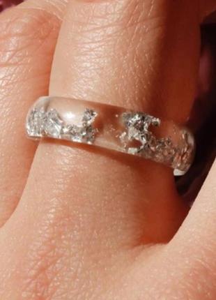 Кольцо с серебром