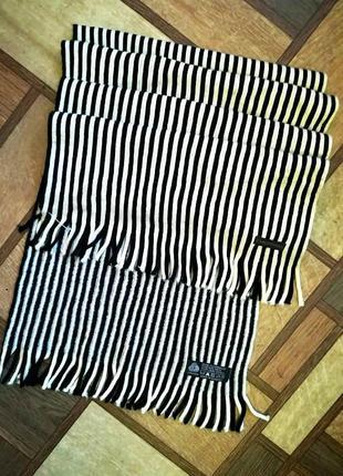 Высококачественный шерстяной ( pure new wool) шарф от немецкого бренда  christensen.