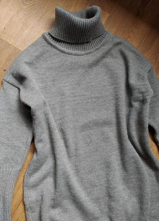 Платье-туника шерсть