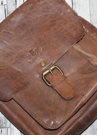 Кожаная сумка ручная работа rowallan