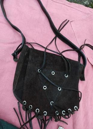 Винтаж сумка кожа бахрама