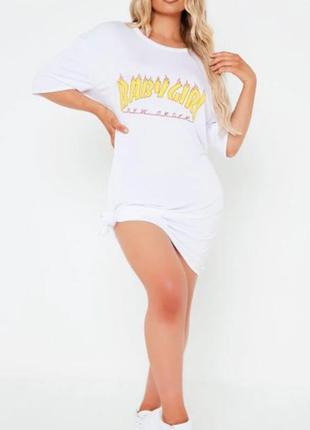 I saw it first. товар куплен в англии. платье футболка оверсайз с графити.