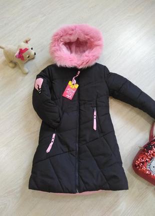 ♥  зимняя удлиненная куртка ♥