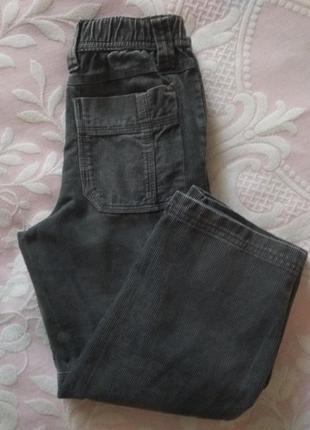 Вельветовые штанишки okaїdi