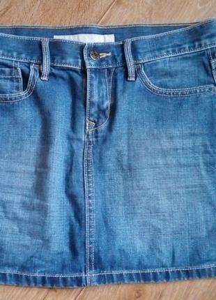 Юбка джинсовая короткая, old navy, s