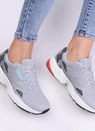 Натуральные кожаные кроссовки (801389)