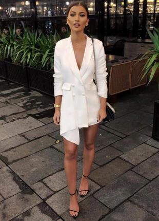 Комбинезон блейзер пиджак платье missguided peace + love asos размер xs s