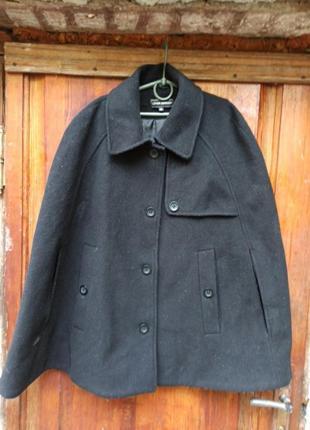 Lener cordier пальто понсо шерсть