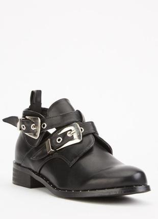 Чорні демісезонні черевички